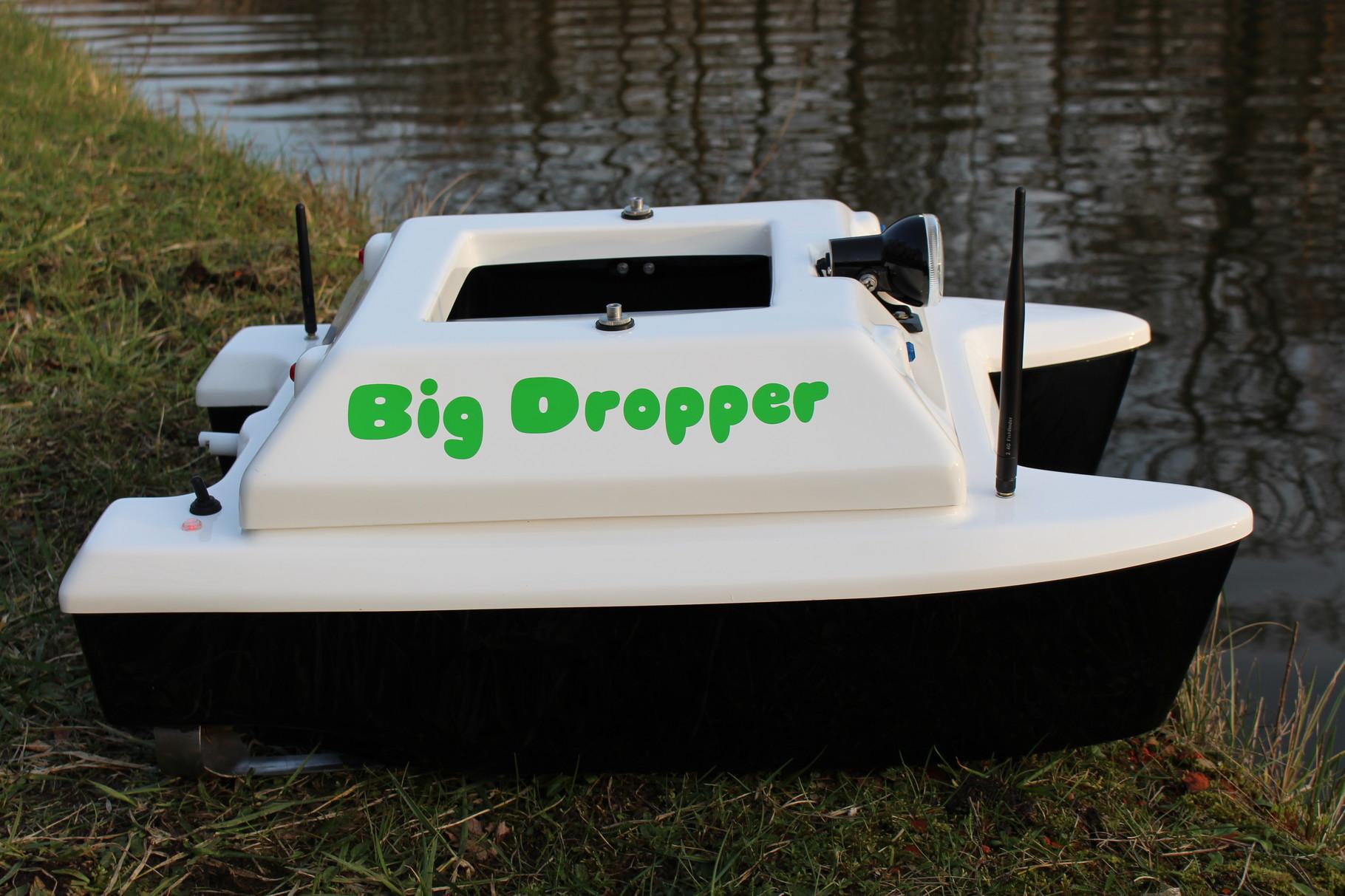 bateau amorceur big dropper