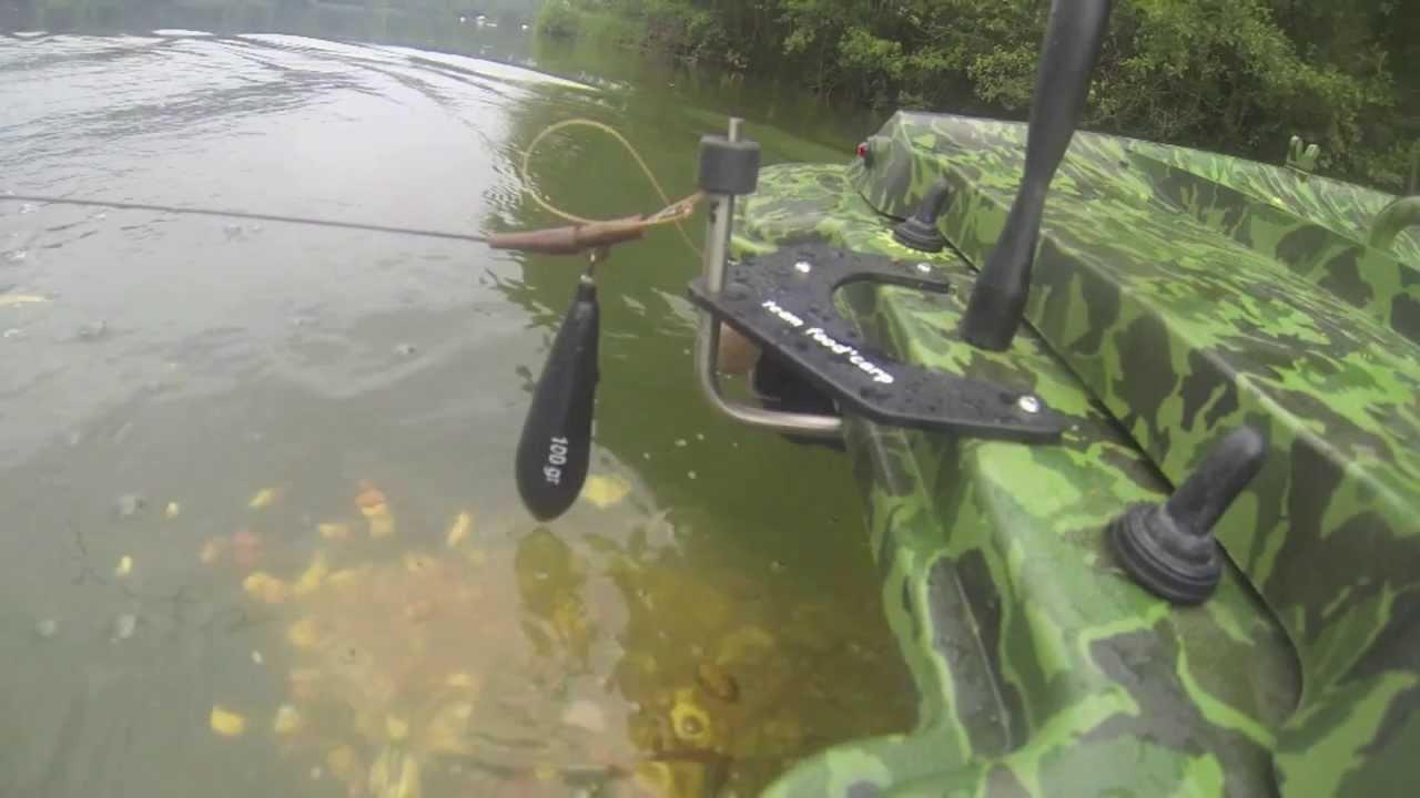 bateau amorceur depose ligne
