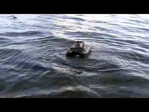 bateau amorceur gladiator