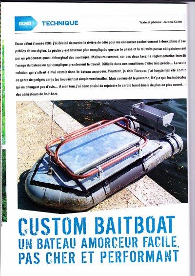 bateau amorceur interdit