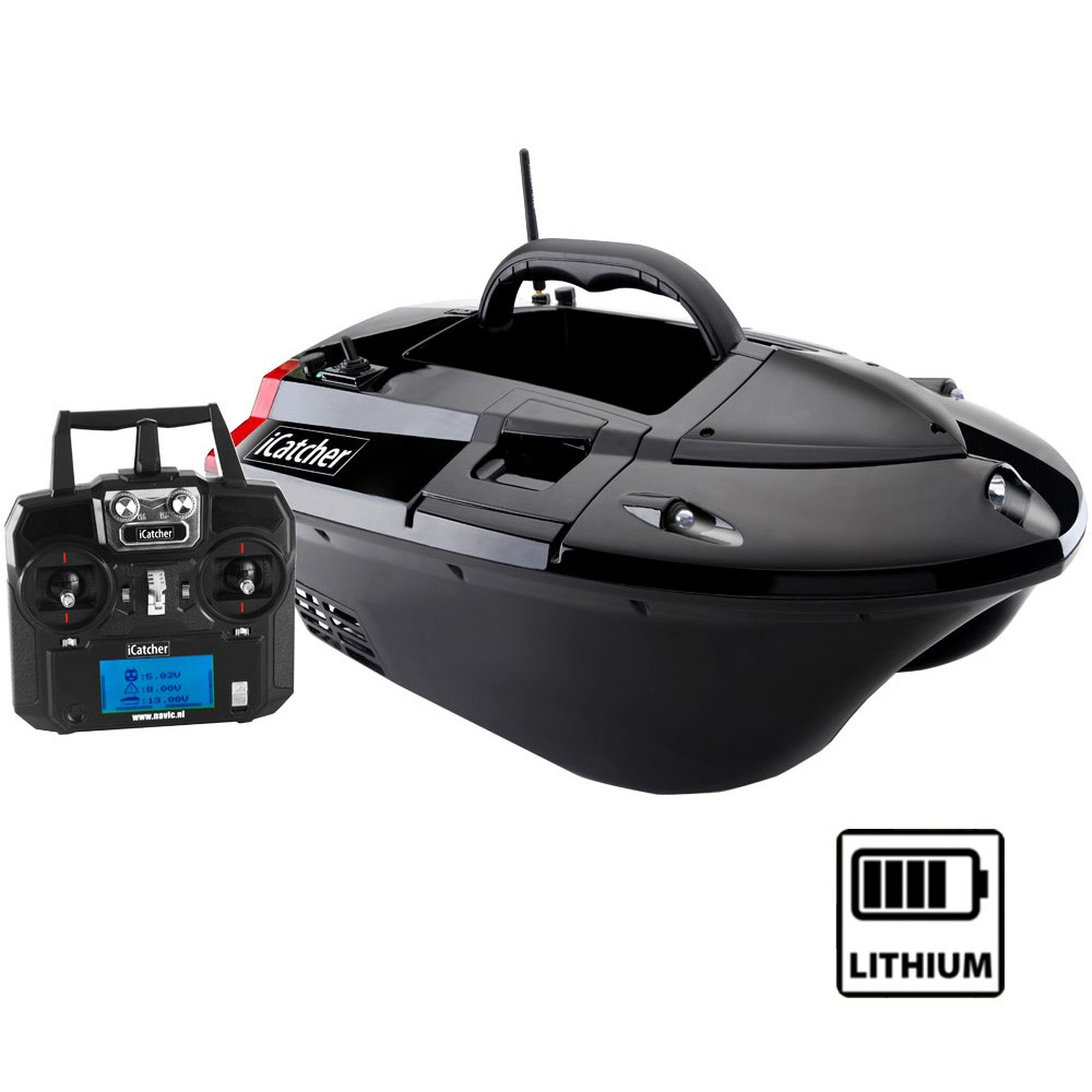 bateau amorceur lithium