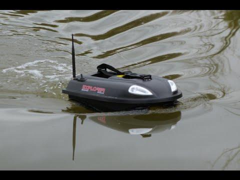 bateau amorceur quad bait boat explorer