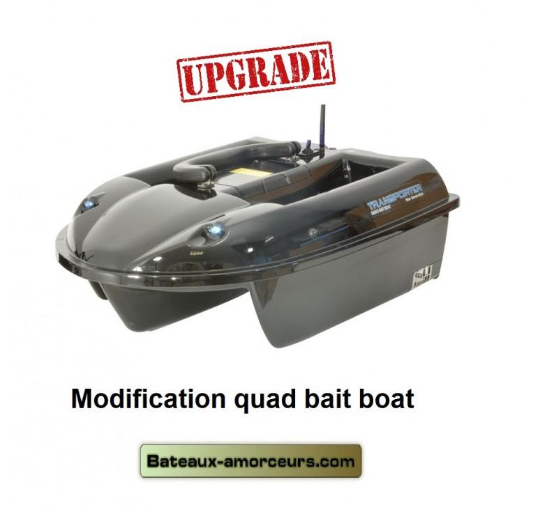 bateau amorceur quad bait boat v1
