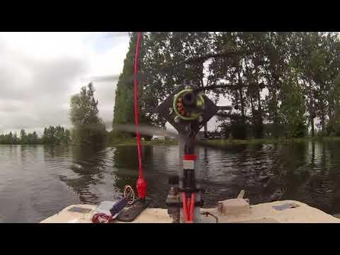 bateau amorceur silure