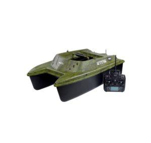 bateau amorceur terre et eau