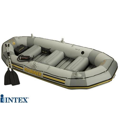 bateau gonflable 4 places seahawk 400 intex