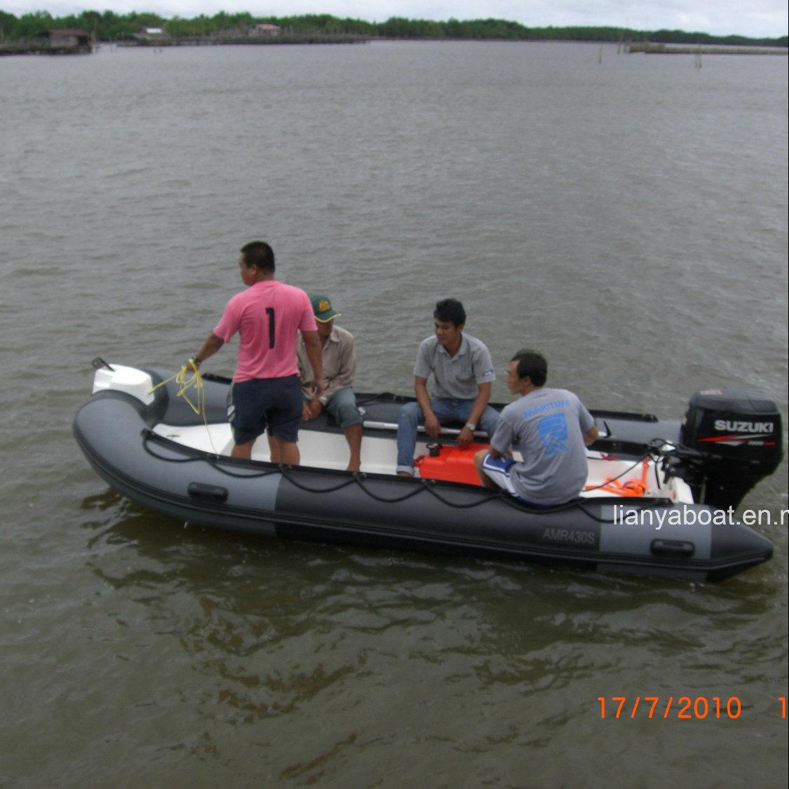 bateau gonflable 5m