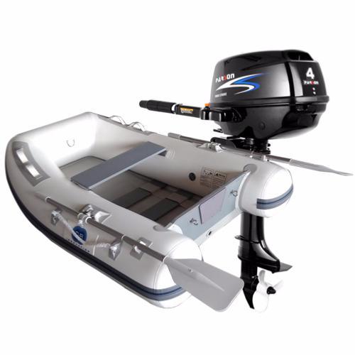 bateau gonflable a moteur thermique