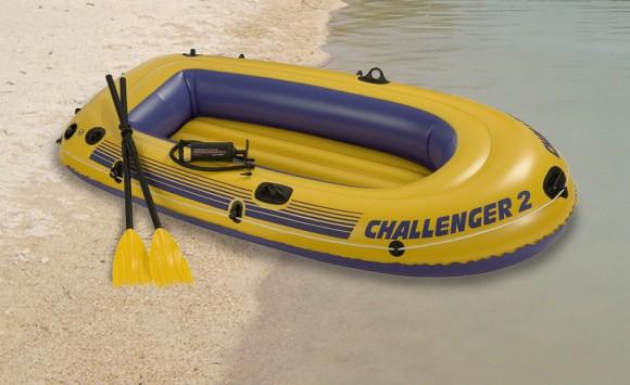 bateau gonflable deux places