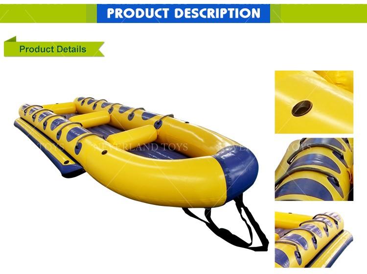 bateau gonflable drole