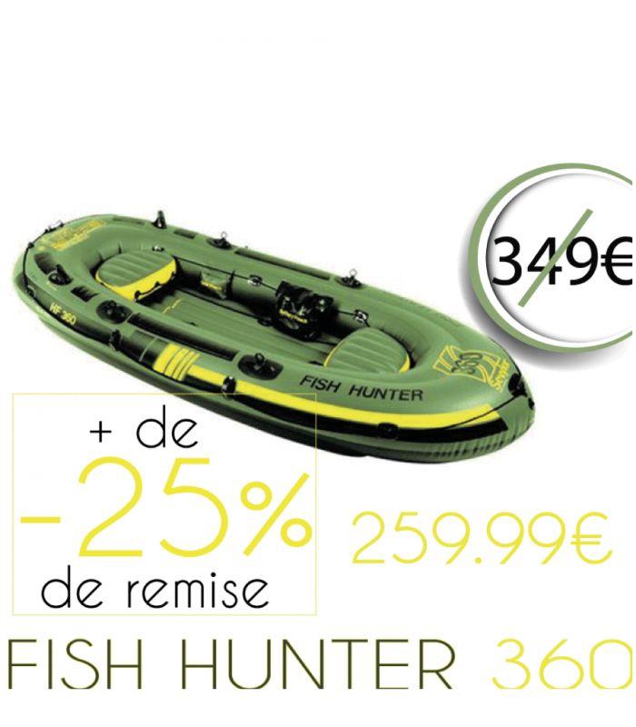 bateau gonflable fish hunter 360 sevylor