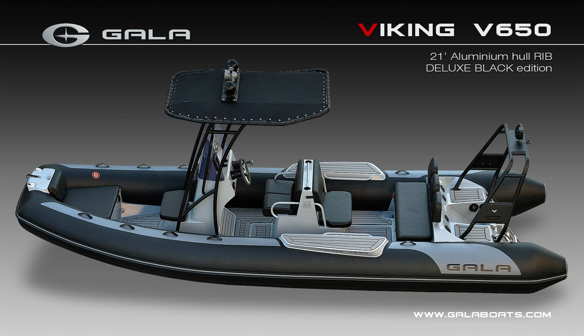 bateau gonflable gala