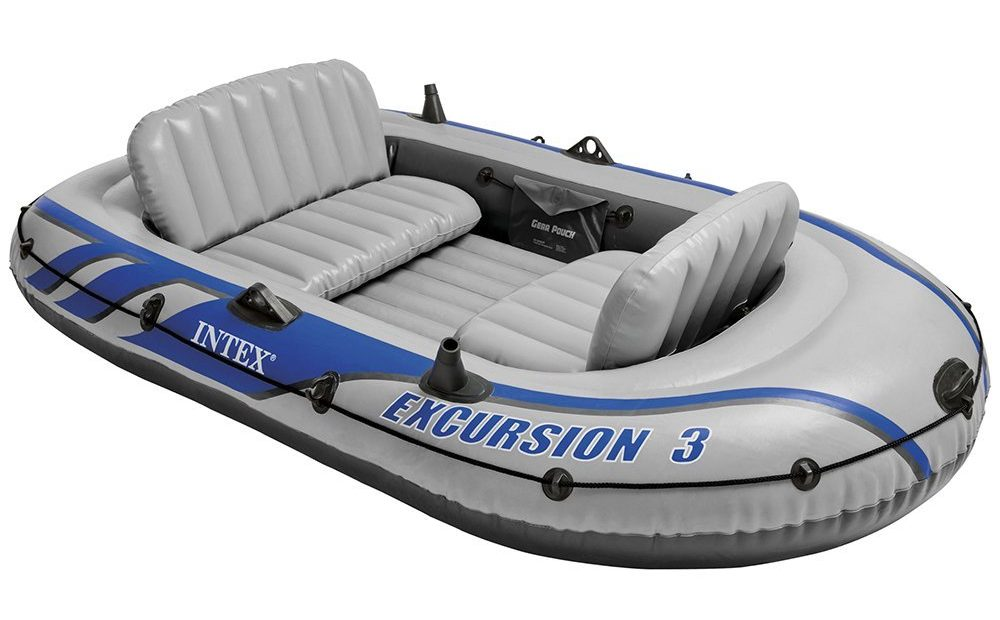 bateau gonflable intex excursion 3