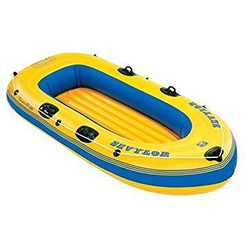 bateau gonflable jaune