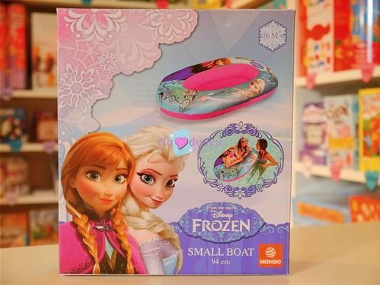 bateau gonflable neige