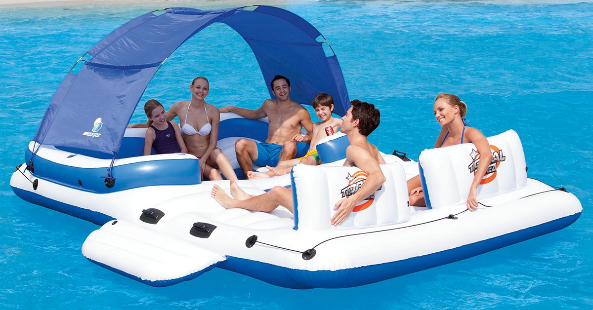 bateau gonflable qoqa