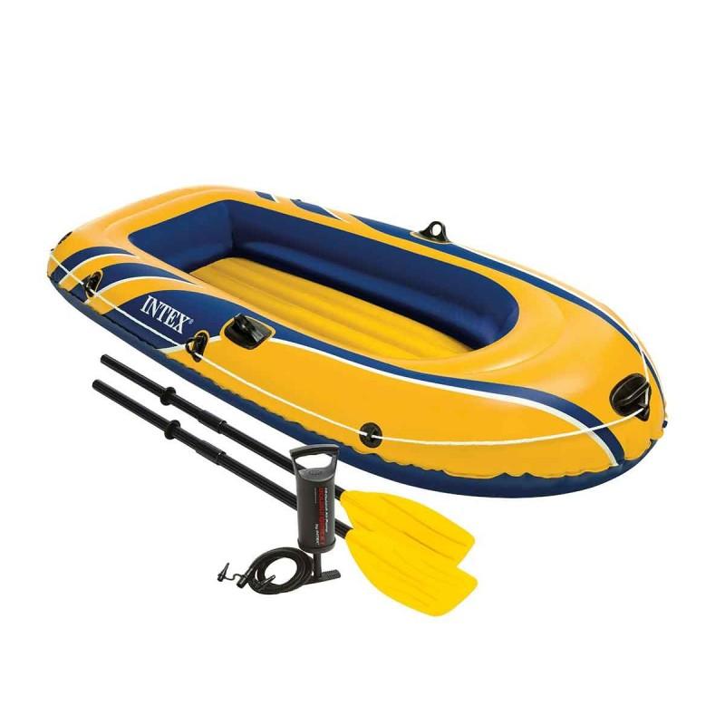 bateau gonflable rame
