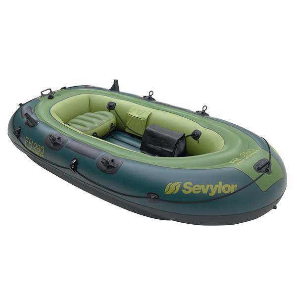 bateau gonflable test