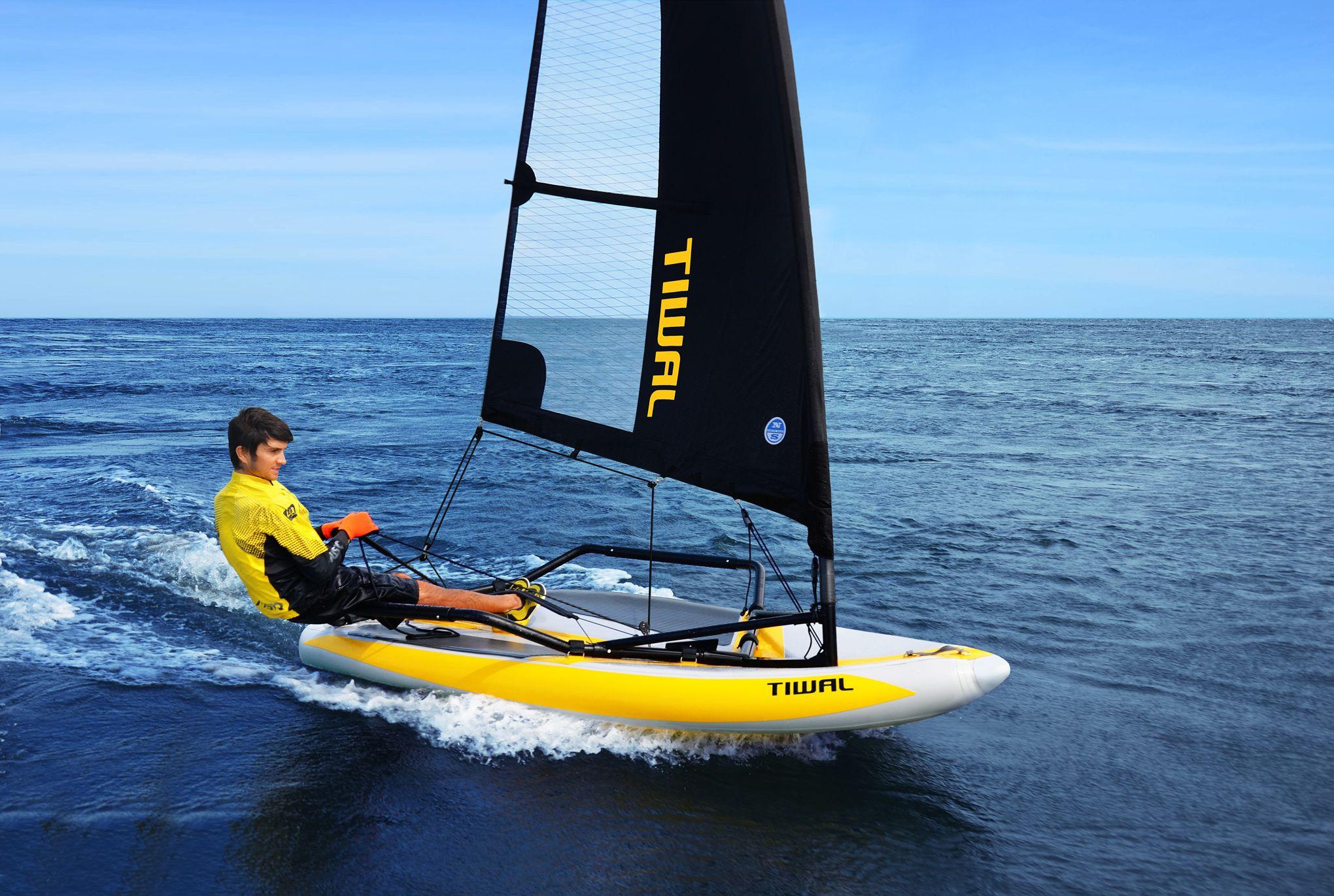 bateau gonflable transportable
