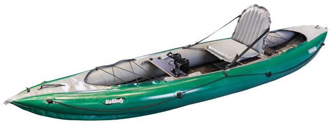 bateau gonflable vieux campeur