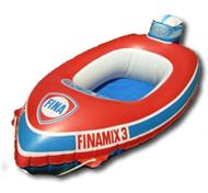 bateau gonflable vintage