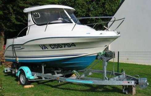 bateau peche 17 pieds