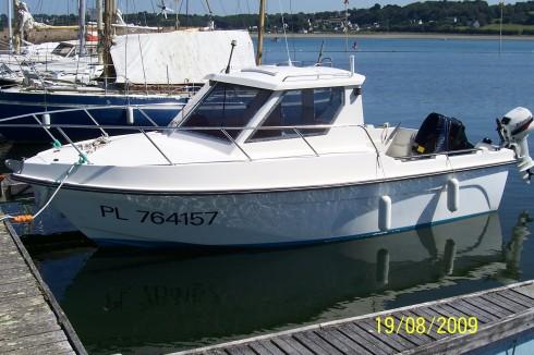 bateau peche 18 pieds