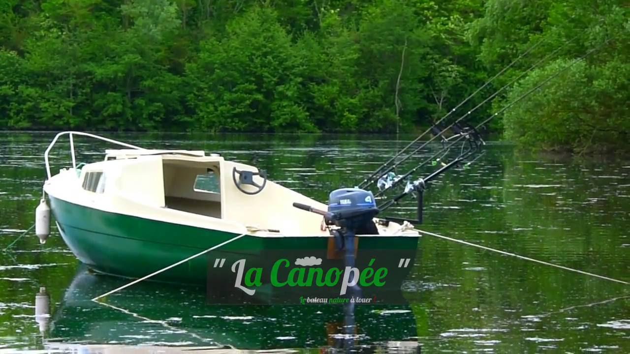 bateau peche a la carpe