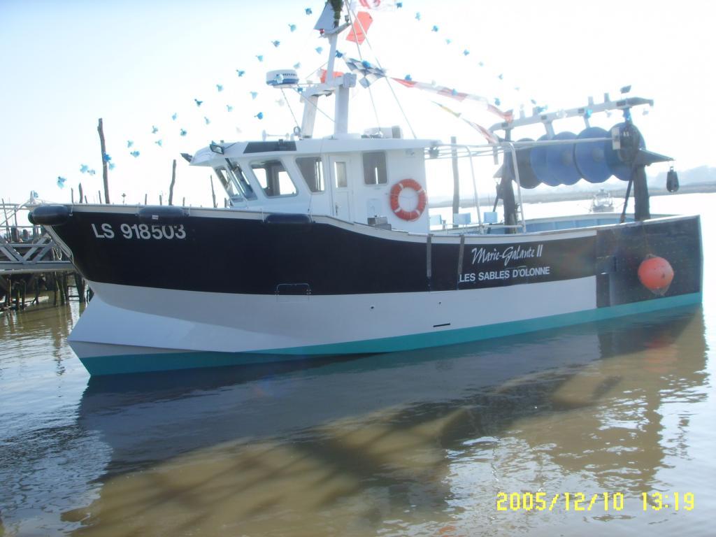 bateau peche a vendre occasion