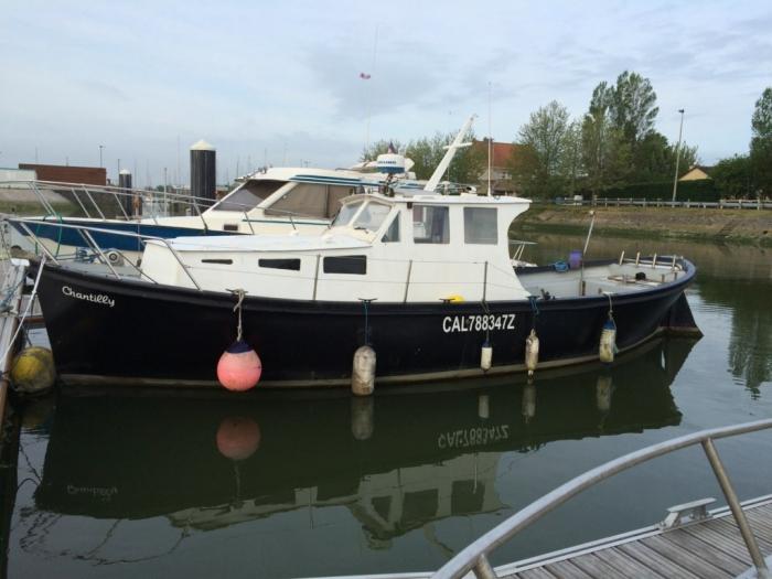 bateau peche a vendre