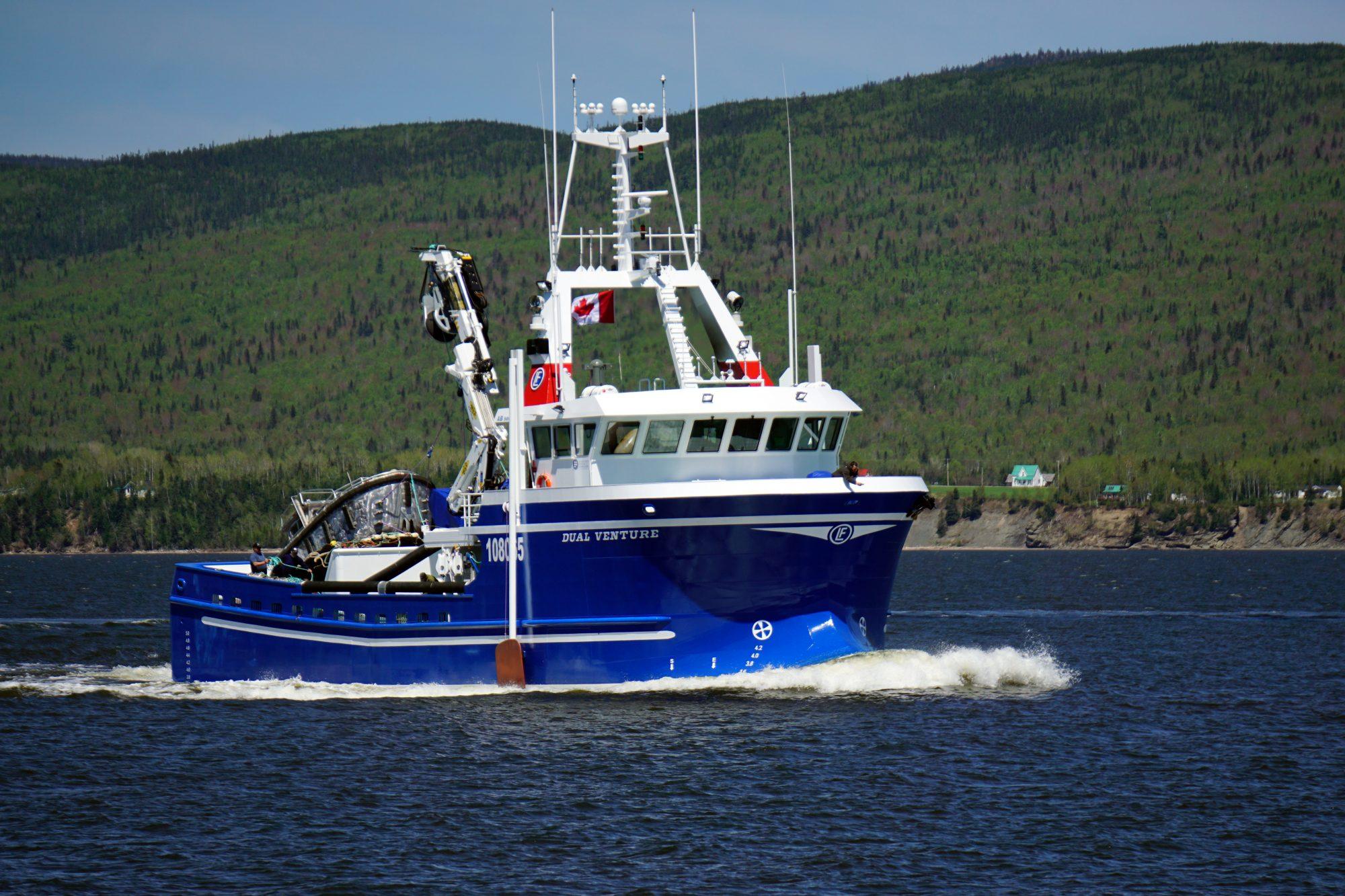 bateau peche aluminium a vendre
