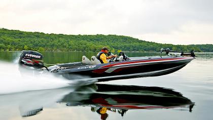 bateau peche black bass