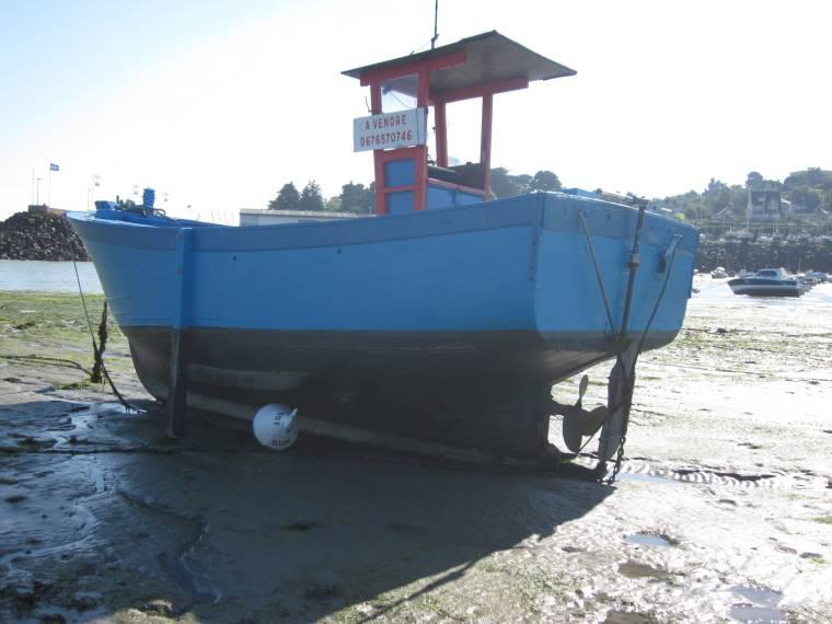 bateau peche bois occasion