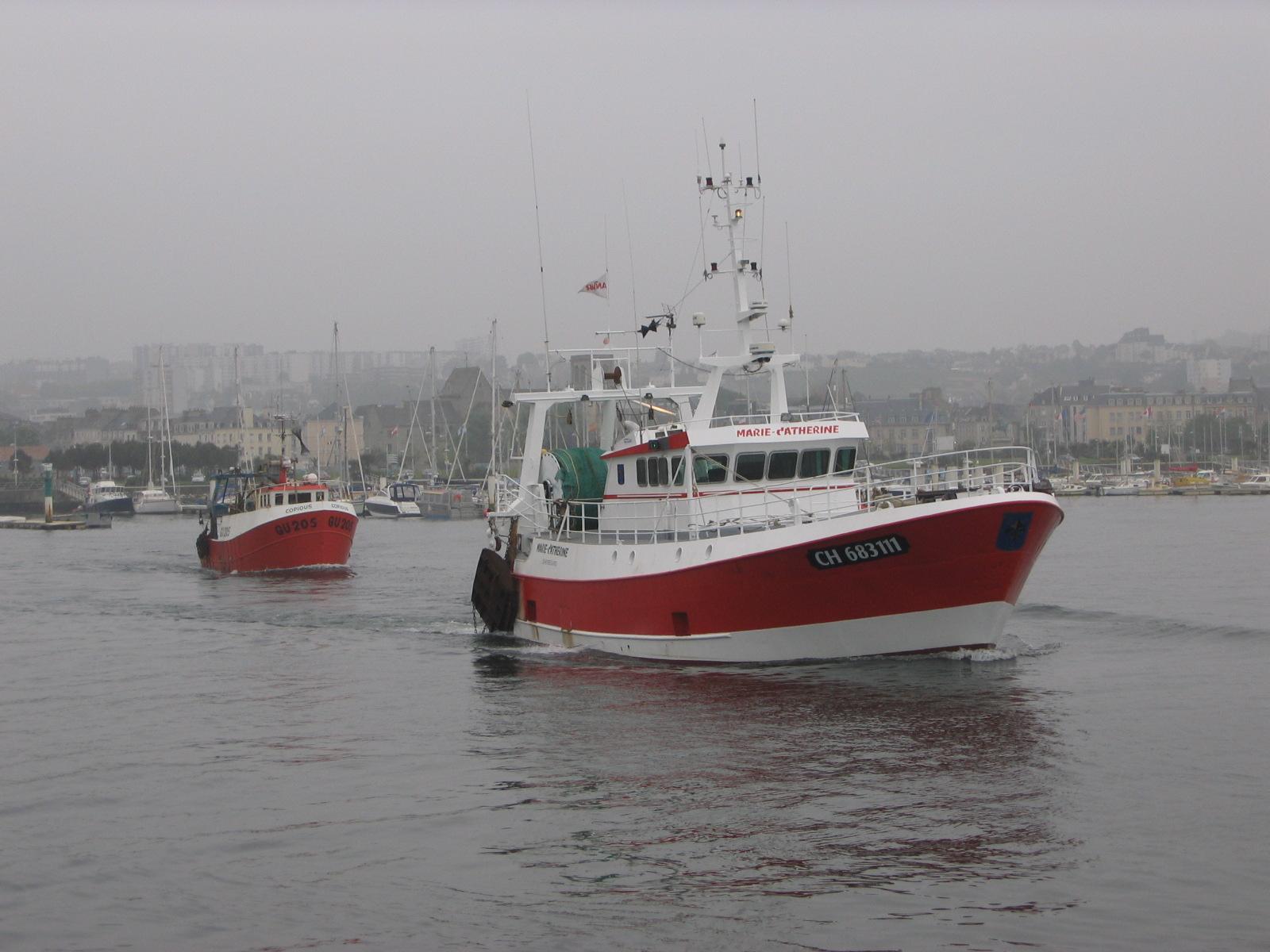 bateau peche cherbourg