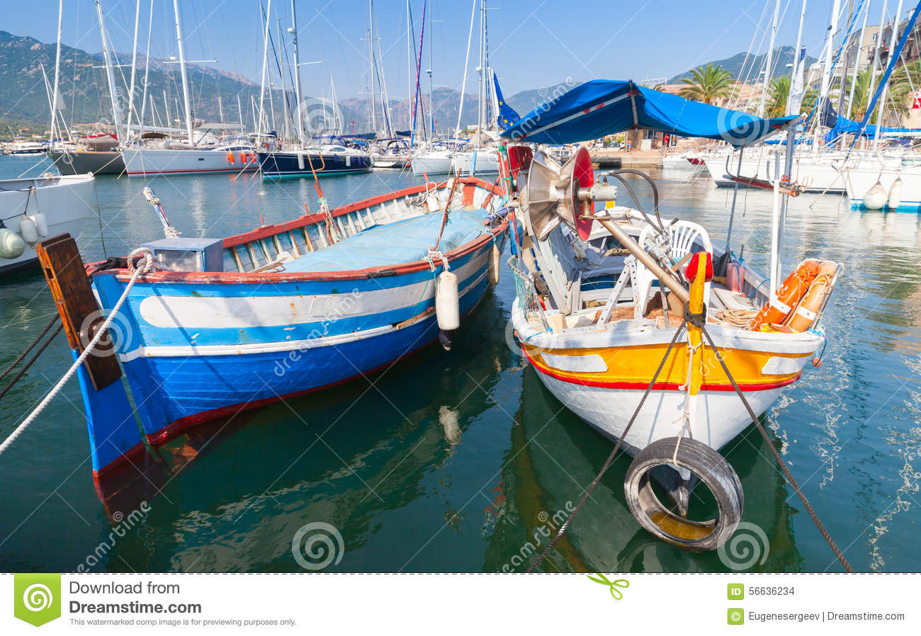 bateau peche corse
