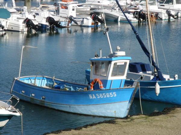 bateau peche en mer a vendre