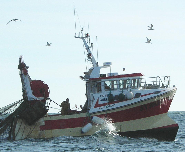 bateau peche en mer du nord belgique