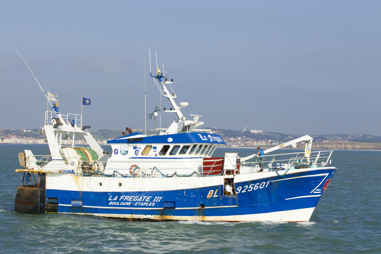 bateau peche en mer nieuwpoort