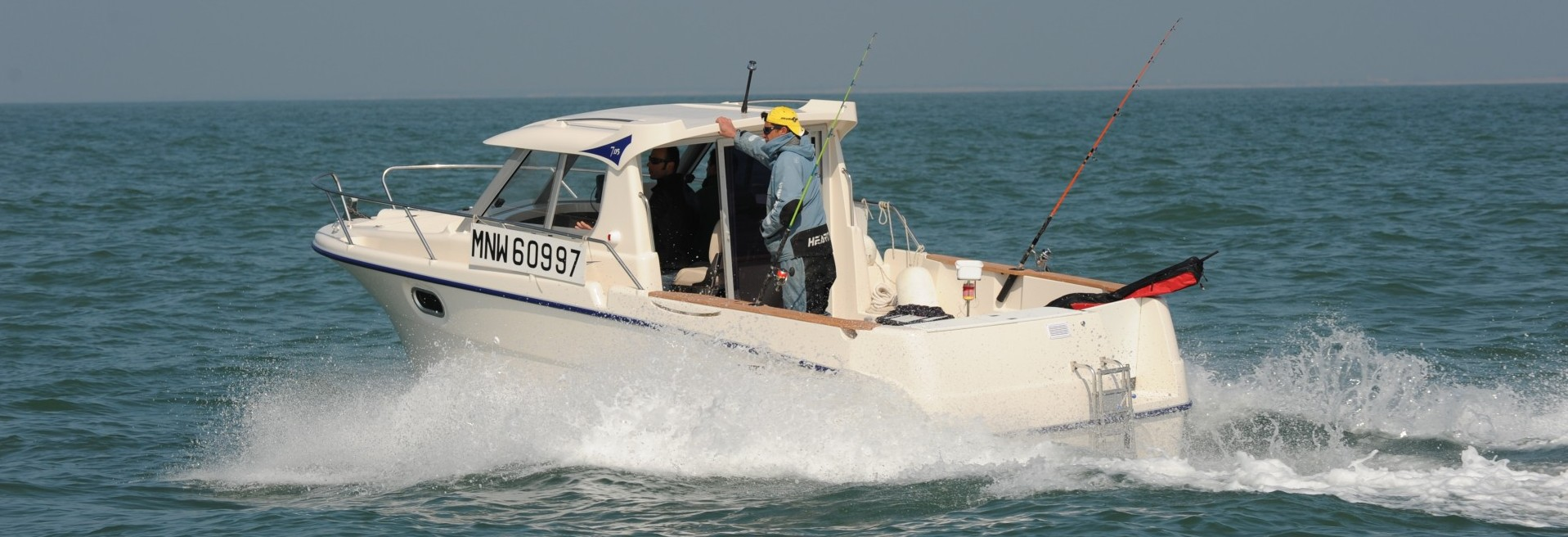 bateau peche en mer occasion