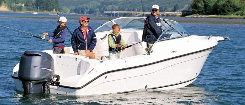 bateau peche et ski nautique