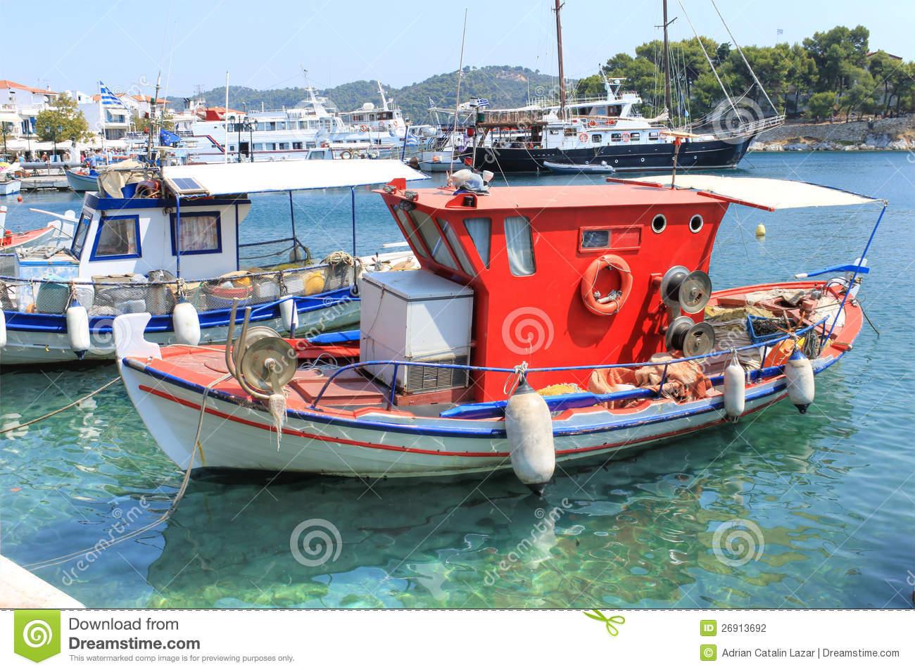 bateau peche grec