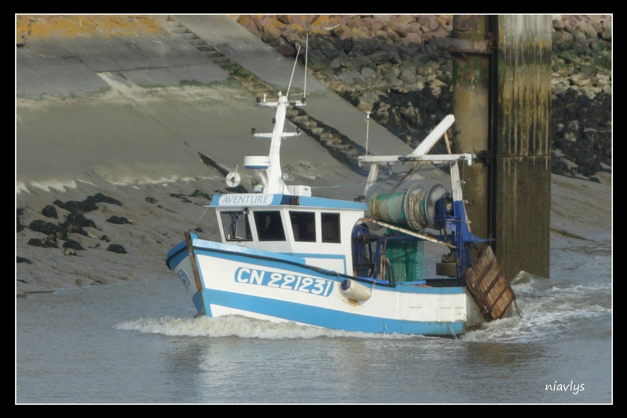 bateau peche honfleur