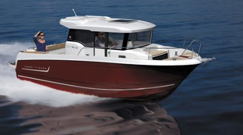 bateau peche jeanneau