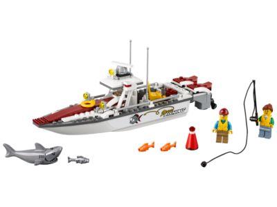 bateau peche lego