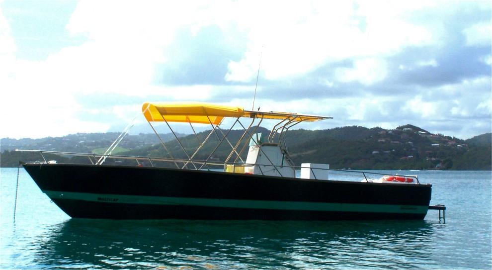 bateau peche location