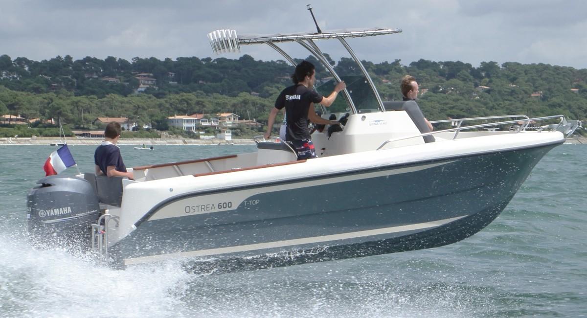 bateau peche loisir occasion