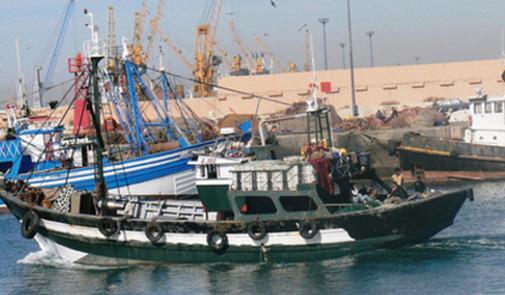 bateau peche maroc