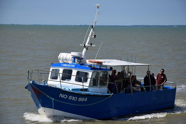 bateau peche mer