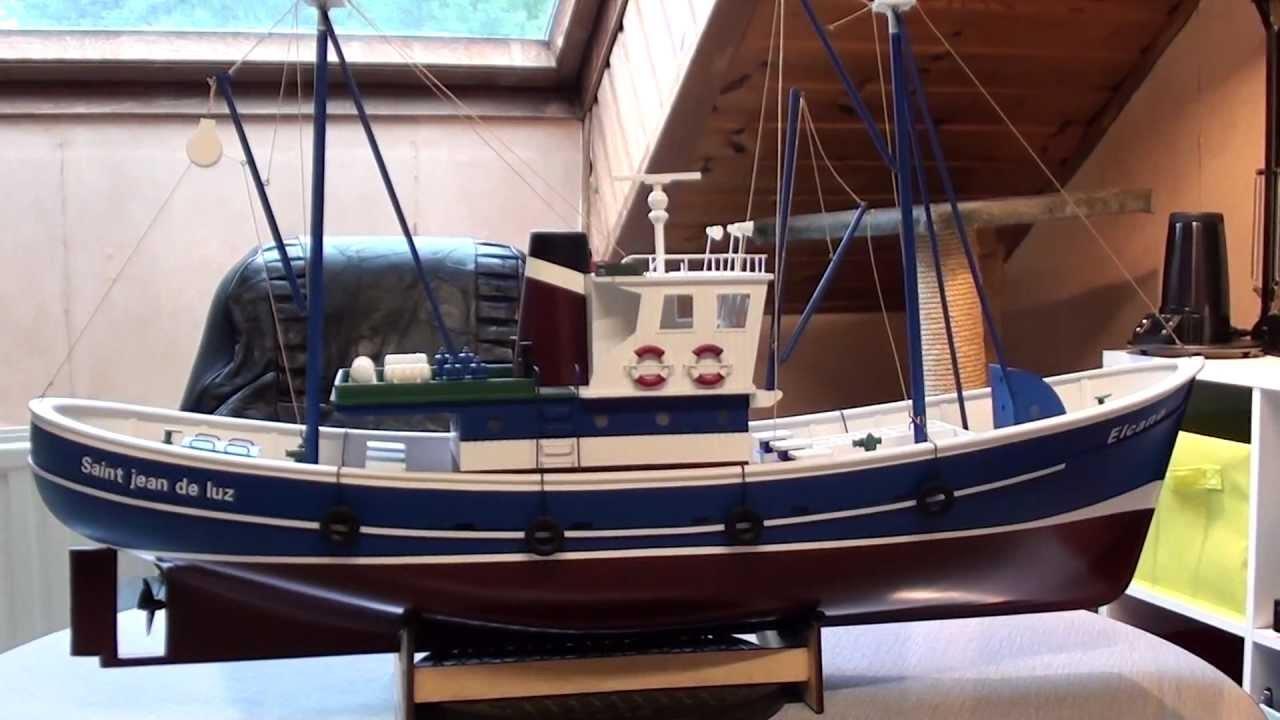 bateau peche modelisme