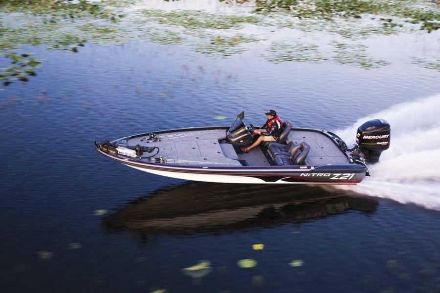 bateau peche nitro